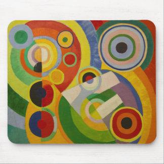 Rhythm Joie de vivre by Robert Delaunay 1930 Mouse Pads