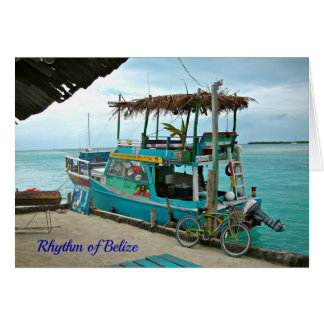 "Rhythm of Belize ""Life Prose"" Rasta Card"