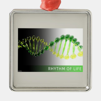 Rhythm of Life Metal Ornament