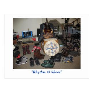 """Rhythm & Shoes"" (Postcard) Postcard"