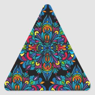 Rhythm, tropical triangle sticker