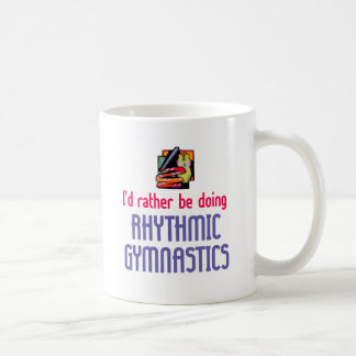 Rhythmic Gymnast Rather Classic White Coffee Mug
