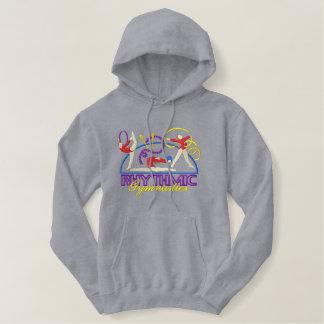 Rhythmic Gymnastics Embroidered Hoodie