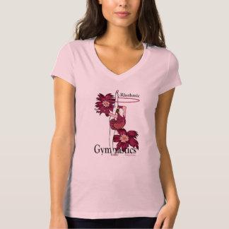 Rhythmic Gymnastics Flower Hoop Shirt