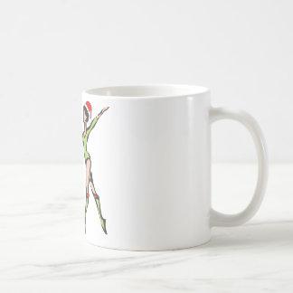 Rhythmic Gymnastics Happy Holidays Classic White Coffee Mug