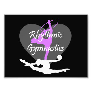 Rhythmic Gymnastics Photographic Print