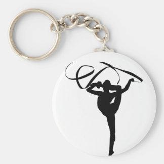 Rhythmic Gymnastics - Ribbon Keychain