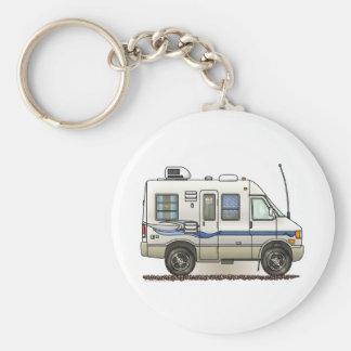 Rialta Winnebago Camper RV Basic Round Button Keychain
