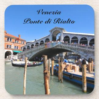 Rialto Bridge in Venice, Italy Coaster
