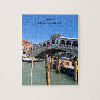 Rialto Bridge in Venice, Italy Jigsaw Puzzle