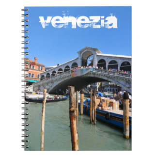 Rialto Bridge in Venice, Italy Notebook