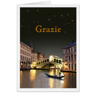 Rialto Thank You Note Card