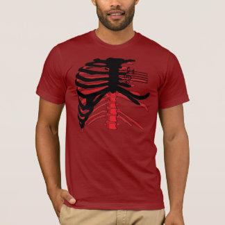 Rib Cage (red/black) T-Shirt