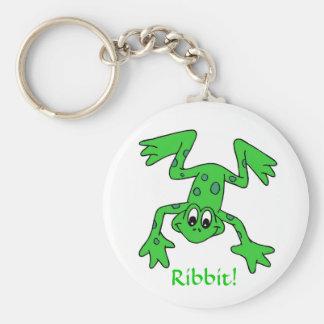 Ribbit Keychain