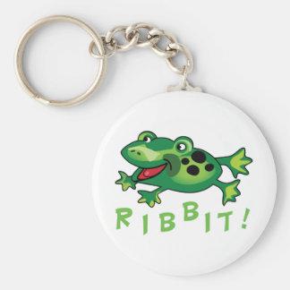 Ribbit! Key Chain