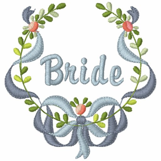 Ribbon and Floral - Bride