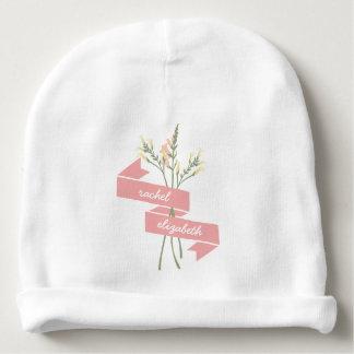 Ribbon Bouquet Baby Beanie