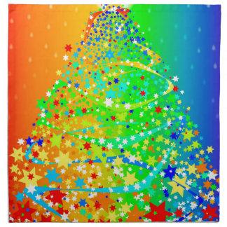 Ribbon Christmas Tree Napkin