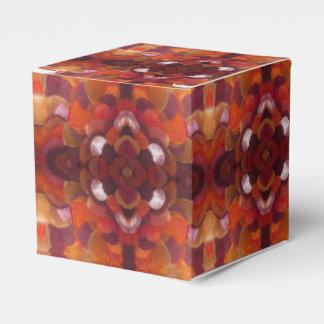 ribbon flower gift box