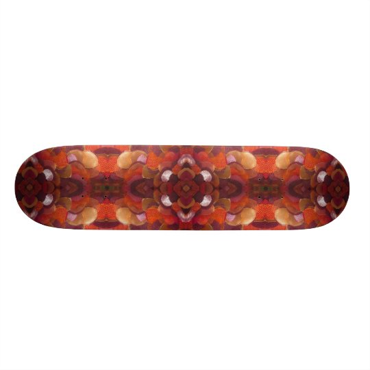 ribbon flower skateboard