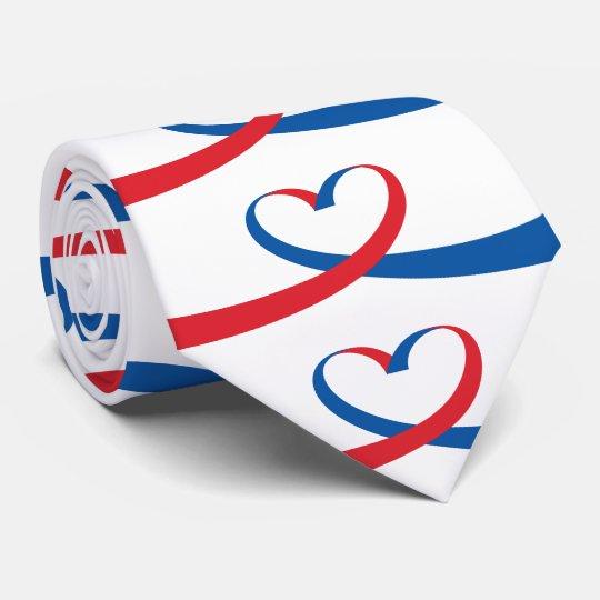Ribbon Heart Tie