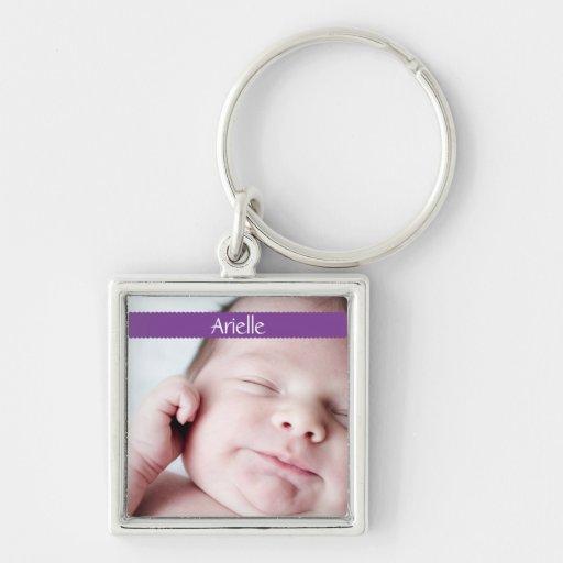 Ribbon Key Chain (purple)