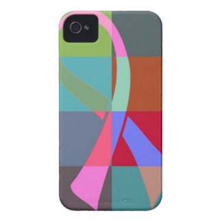 ribbon psychedelic iPhone 4 covers