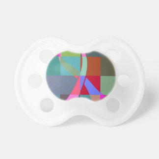 ribbon psychedelic pacifier
