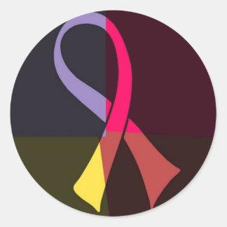 ribbon sachiko 1977 classic round sticker