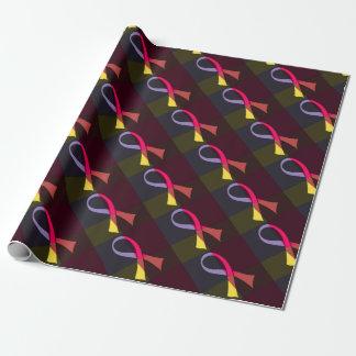ribbon sachiko 1977 wrapping paper