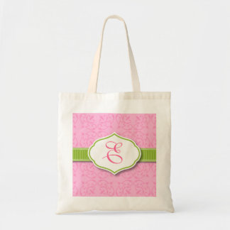 Ribbon & Seal Monogram Bridesmaid Tote
