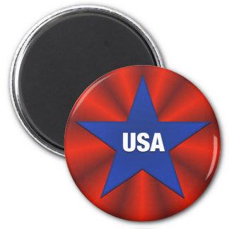 Ribbon Star USA Magnet