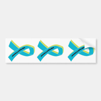 Ribbon Stickers (3) - PVNH Support & Awareness