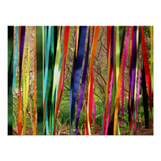 Ribbon Streamers Poster