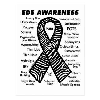 Ribbon/Symptoms...EDS Postcard