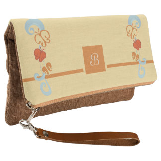 Ribbons and Butterfiles Clutch