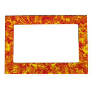 Ribbons of Fire Magnetic Frame
