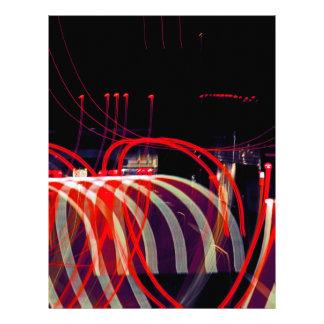 Ribbons of Light Letterhead