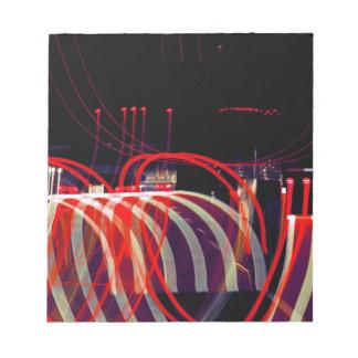 Ribbons of Light Notepad