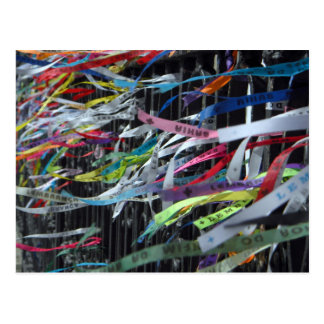 Ribbons of the Bonfim Postcard