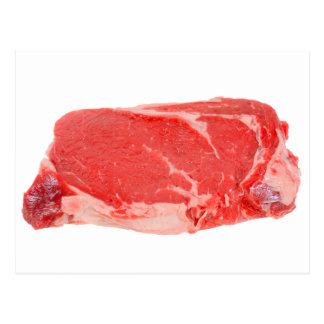 Ribeye Steak uncooked Postcard