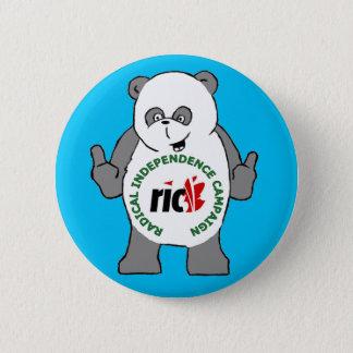 RIC Panda badge 2 Inch Round Button