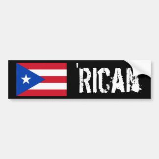 'Rican Bumper Sticker