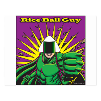Rice Ball Guy Postcard