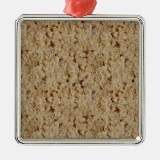 Rice Crispy Treat Metal Ornament