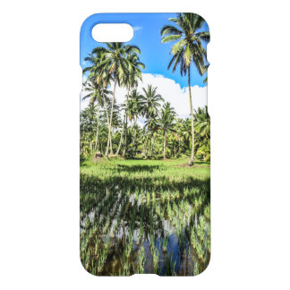 Rice Field Landscape iPhone 7 Case