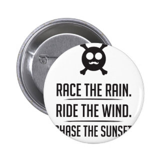 Rice in The Rain 2 Inch Round Button