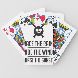 Rice in The Rain Bicycle Playing Cards
