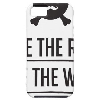 Rice in The Rain iPhone 5 Case