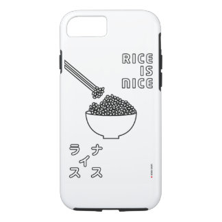 rice is nice iPhone 8/7 case